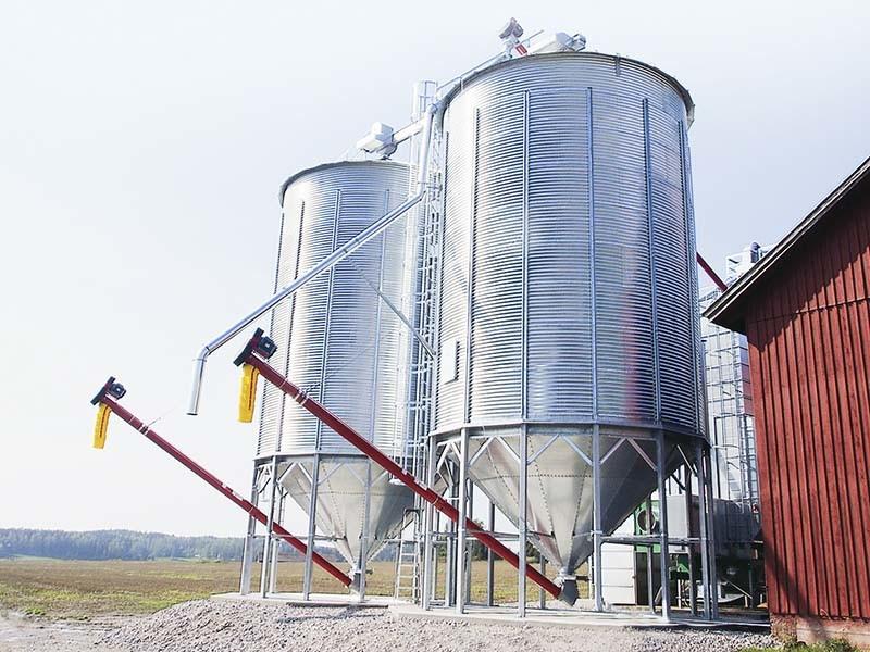 Hopper Bottom Grain Bins Steel Silo
