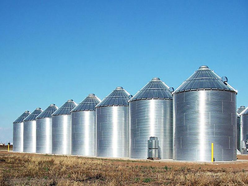 Steel Grain Silos For Sale