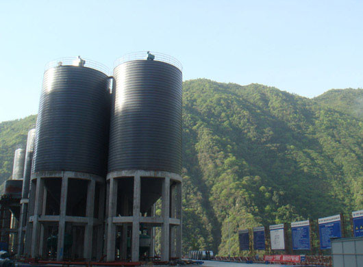 Silo System Solution for Mineral Production Industry