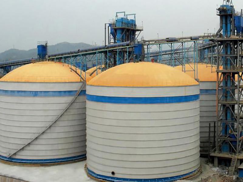 SRON Top ash silo manufacturers for bulk material
