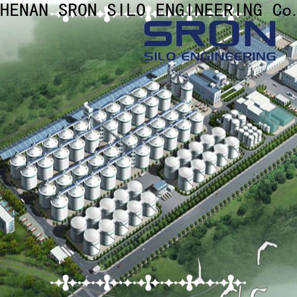 SRON Custom grain storage systems for sale for farms