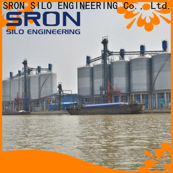 SRON silo system for manufacturing plant