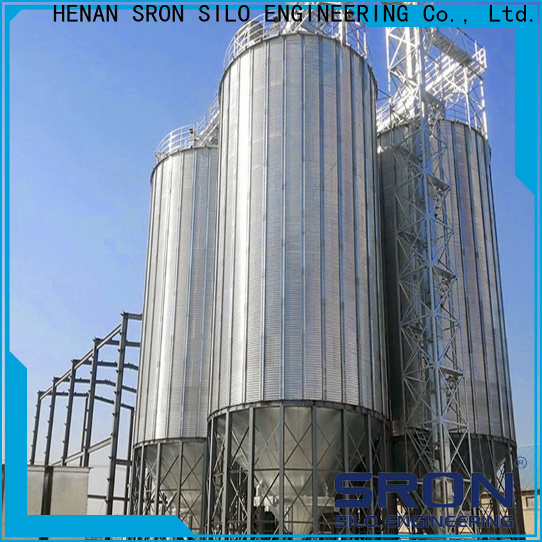 SRON High Capacity concrete grain silos company for food & beverage industry