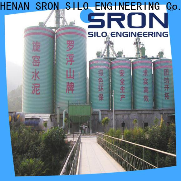 SRON silo storage system solution for storing bulk materials