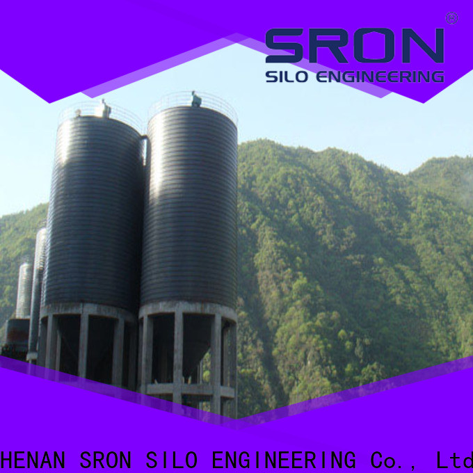 SRON storage silos factory for manufacturing plant