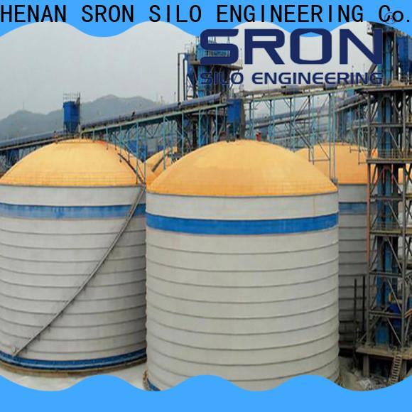SRON Top powder storage silo price for bulk material