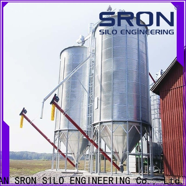 SRON soybean silo solution for food & beverage industry