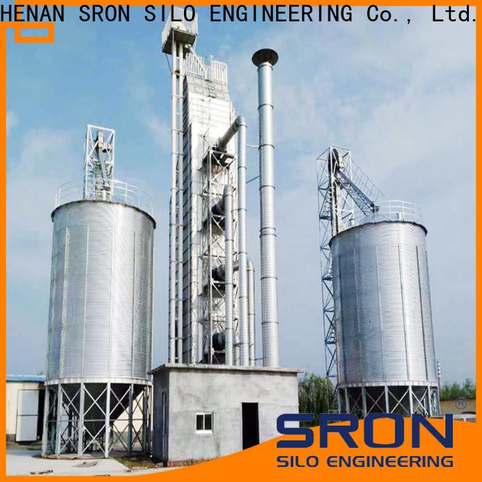 SRON Best grain storage silos for food & beverage industry