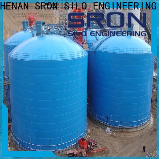 Custom made welded steel silo supply for bulk materil storage