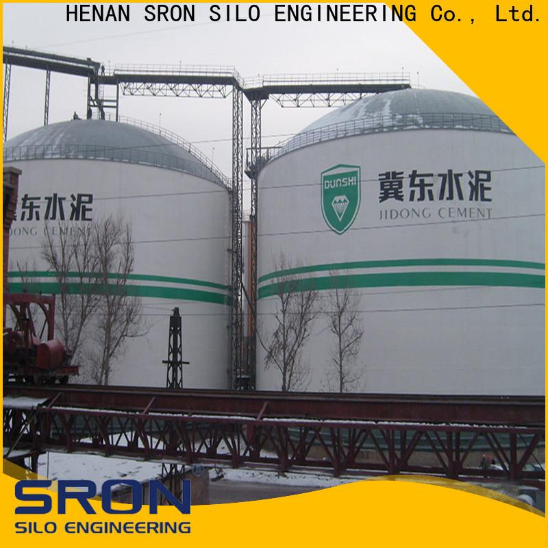 Custom made coal silo for bulk material