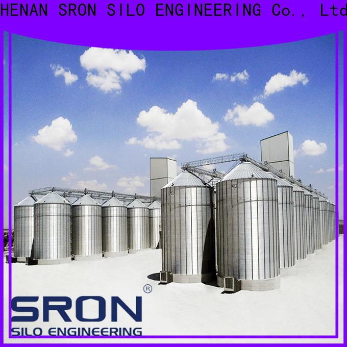 Latest corn storage silo solution for grain storage