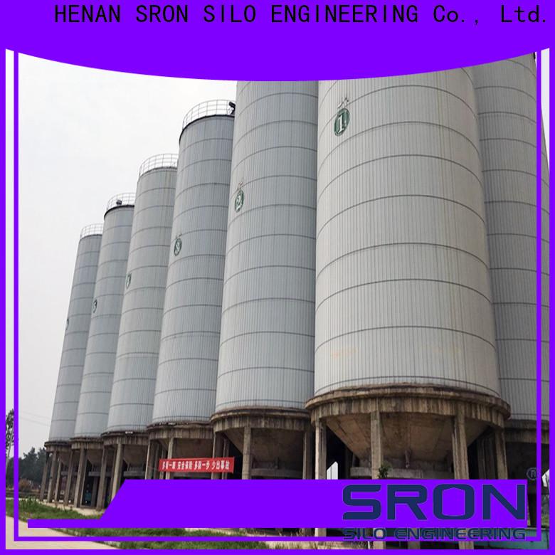 SRON storage feed bin solution for farming industry
