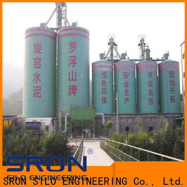 Custom made silo system manufacturers for manufacturing plant