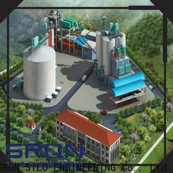 SRON silo safety systems factory for storing bulk materials