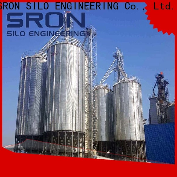 Customized metal silos for sale for storage of grains