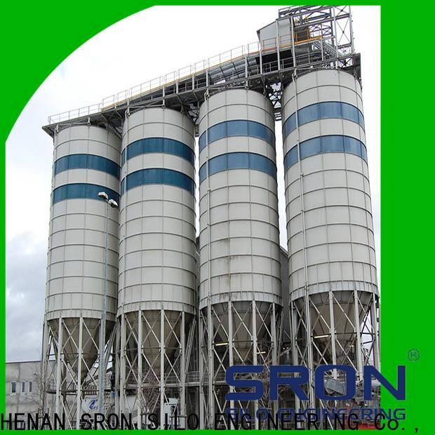SRON Best lime silo cost for bulk materil storage