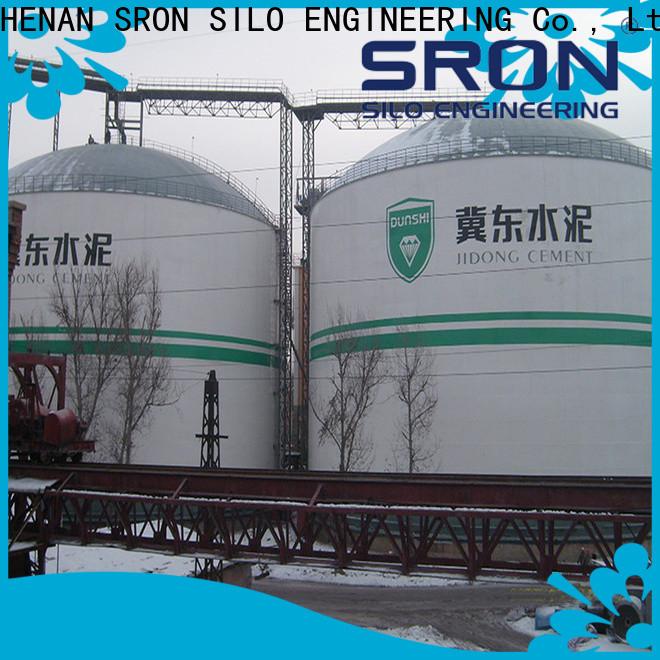 SRON storage silos solution for bulk material