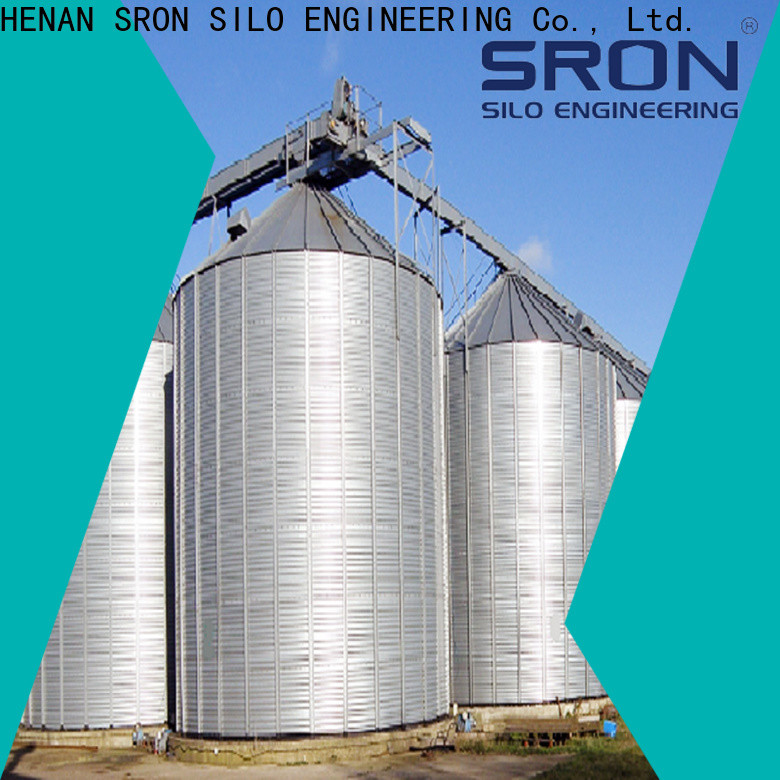 SRON Custom made grain silo cost cost for farms