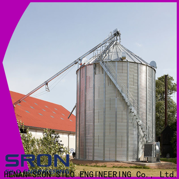 New maize silo factory for storage of grains