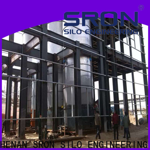 Quality soybean silo cost for storage of grains