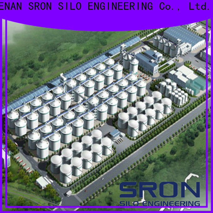 Custom made materials storage systems price for grain storage