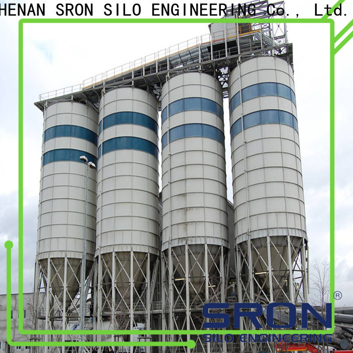 SRON powder storage silo supply for bulk materil storage