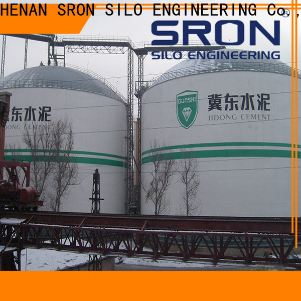 Quality ash silo for sale for bulk material