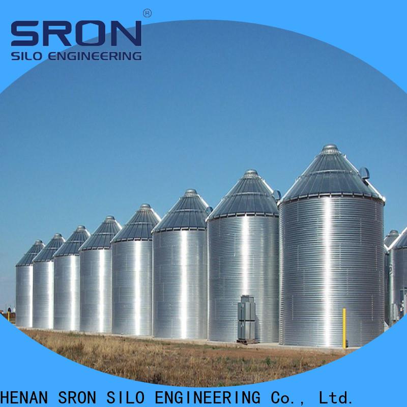 SRON grain bins factory for food & beverage industry