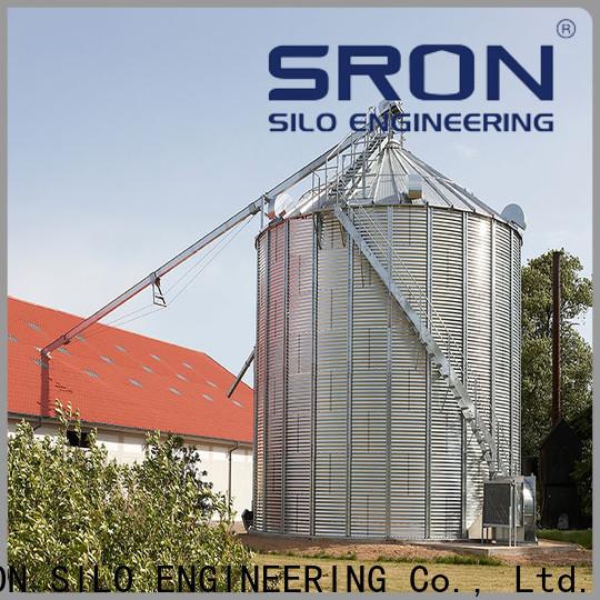 SRON Top grain bins prices factory for storage of grains
