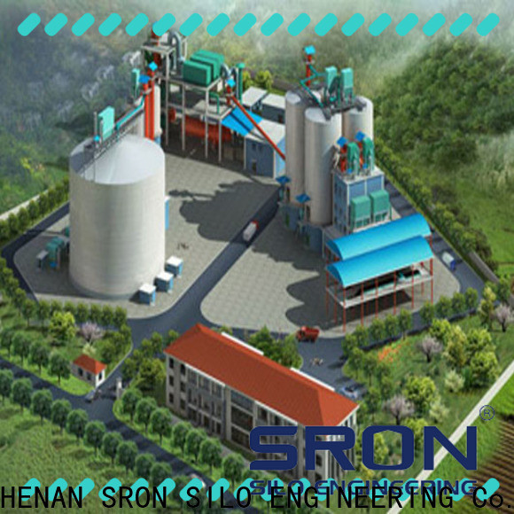 SRON High-quality silo storage system wholesale for storing bulk materials