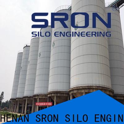 SRON New grain steel silo vendor for food & beverage industry
