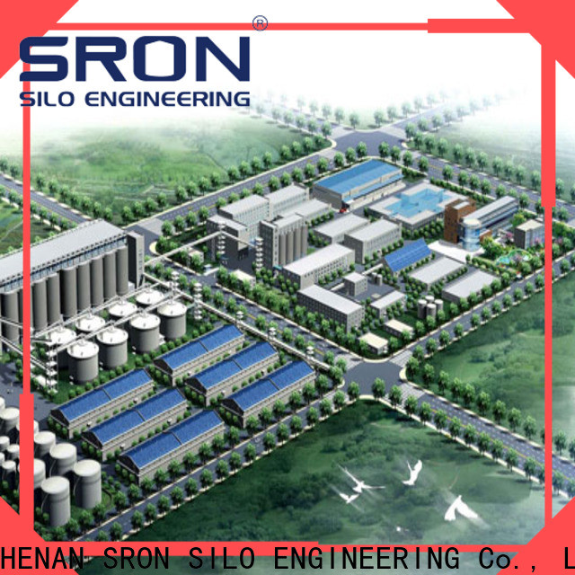 SRON grain storage solutions factory for food & beverage industry