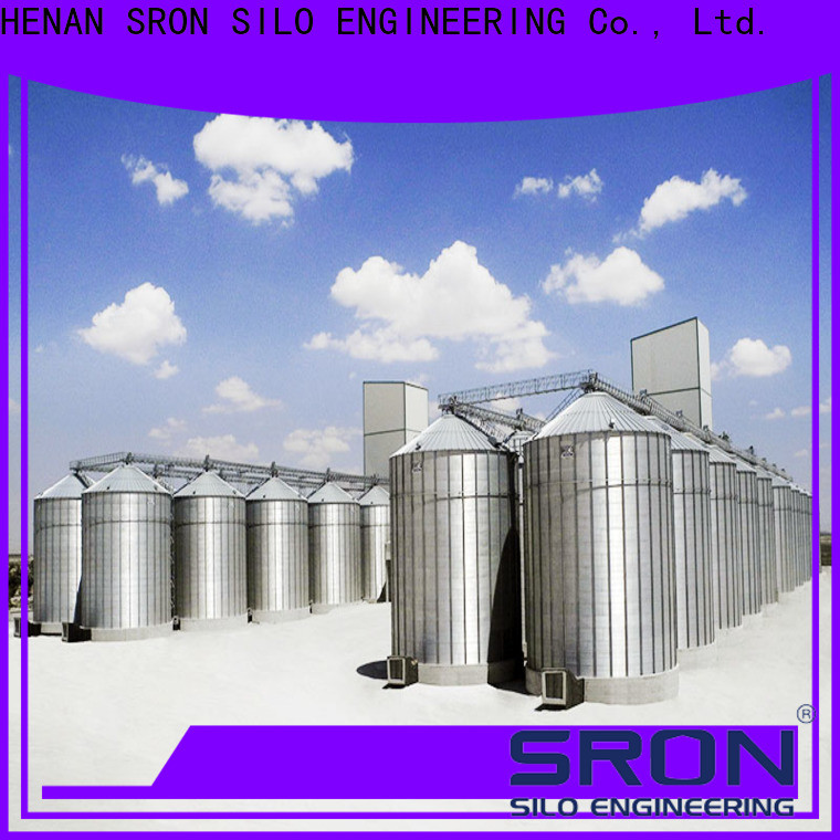 High-quality feed silo factory for storage of grains