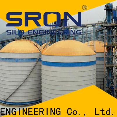 SRON storage silos manufacturers for bulk materil storage