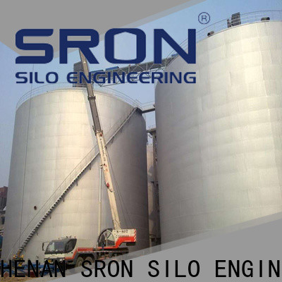 SRON Professional bolted silos for bulk material