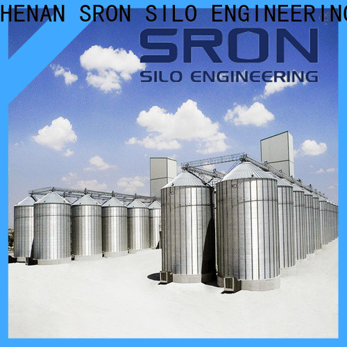 SRON Custom made grain storage bin supply for storage of grains