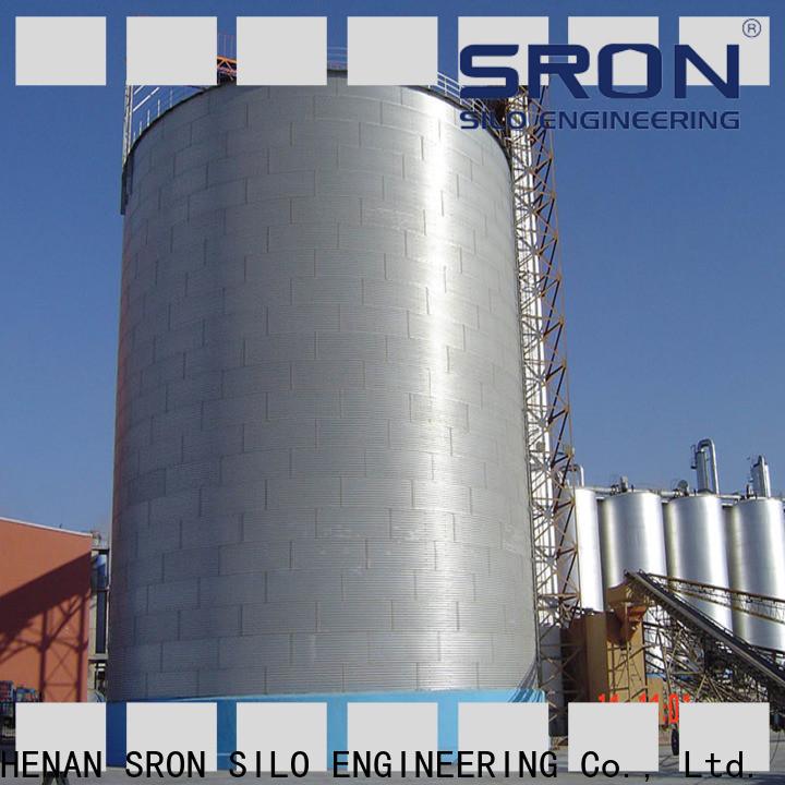 SRON Quality grain silo cost for farming industry