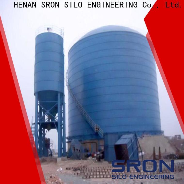 SRON lime storage silo vendor for bulk material