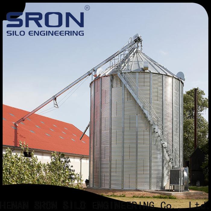 SRON soybean silo for storage of grains