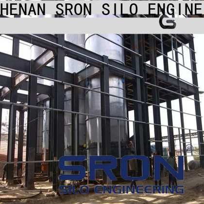 SRON steel grain silo for sale for food & beverage industry