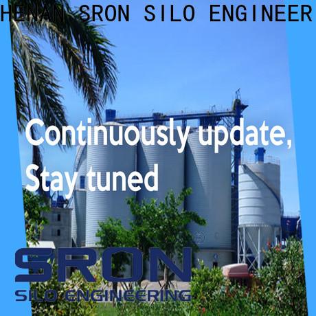 SRON grain bin costs supply for food & beverage industry