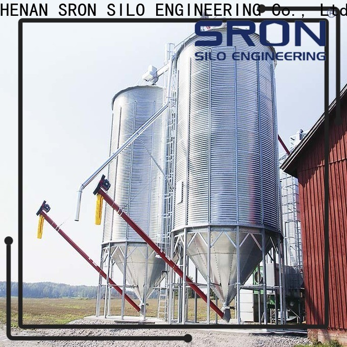 SRON Quality wheat silo cost for food & beverage industry