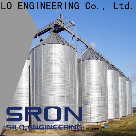 SRON soybean silo manufacturers for grain storage