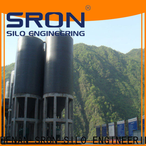 SRON silo storage system for manufacturing plant