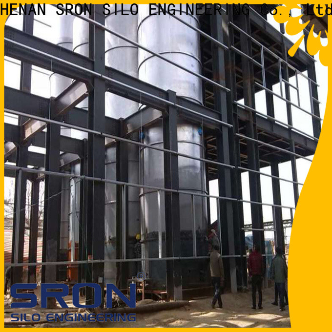 Custom corn silo solution for storage of grains