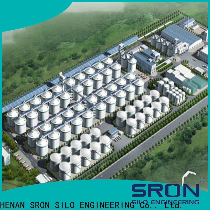 SRON Best materials storage systems manufacturers for storage of grains