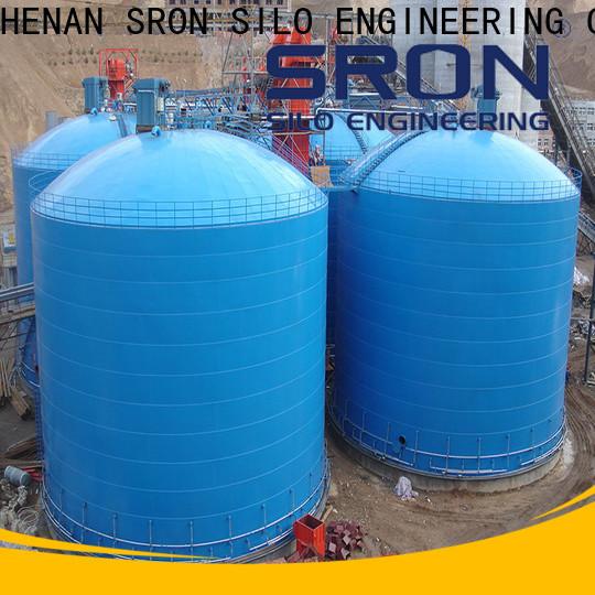 SRON bulk storage silos cost for bulk materil storage