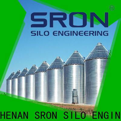 High Capacity grain bin costs factory price for grain storage