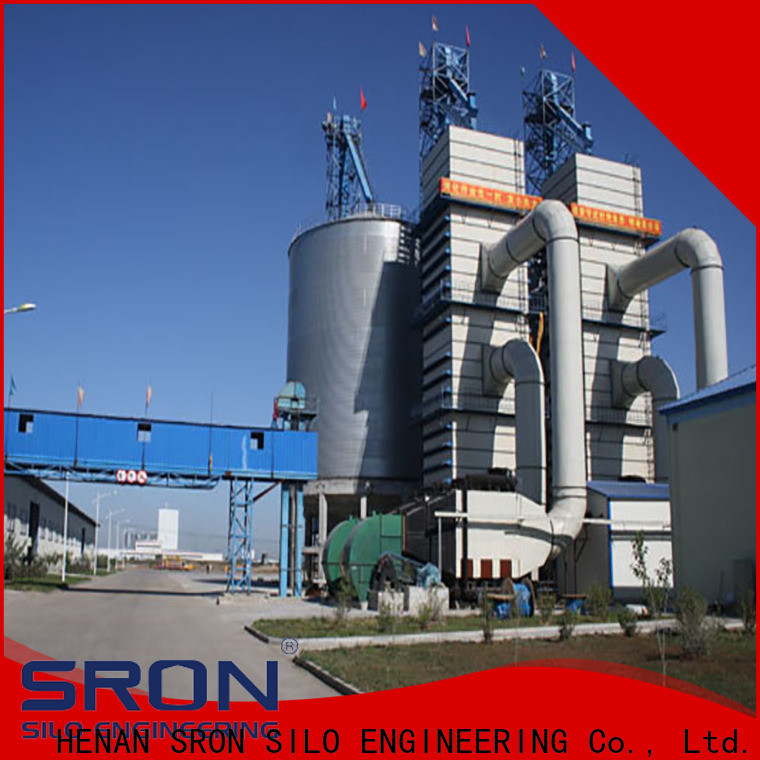 SRON rice silos factory for food & beverage industry