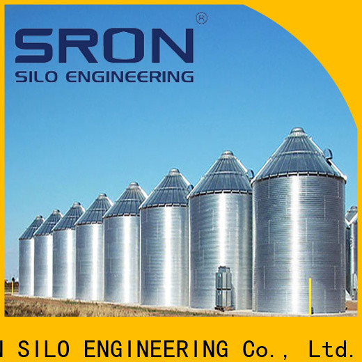 SRON grain bins prices suppliers for grain storage